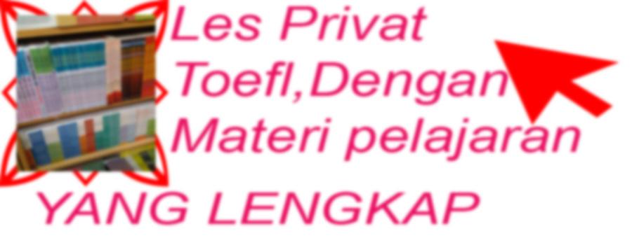 les privat Bahasa inggris | les privat toefl